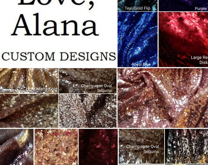 Featured listing image: Custom Sequin Maxi - Any Size or Height (XS-2X, plus, tall, etc)