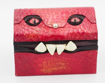 Cherry Red Mimic Monster Box