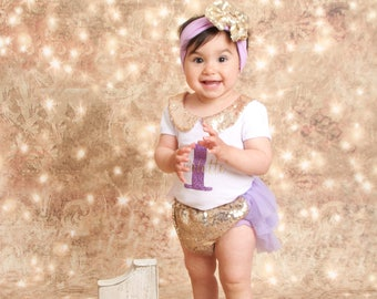 first birthday purple birthday outfit, 1st birthday girl outfit, lavender birthday outfit, gold and purple birthday, my first birthday