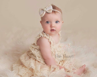 Lace rustic vintage flower girl dresses, shabby chic lace girl dress, flower girl dresses, baby lace dress , junior bridesmaid dresses