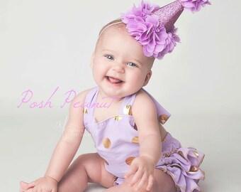 first birthday girl hat, 2nd birthday girls hat, birthday hat, 1st birthday hat, baby girl birthday hat, purple birthday hat, number hat
