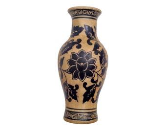 Black Figured Ware reproduction Greek pottery vase