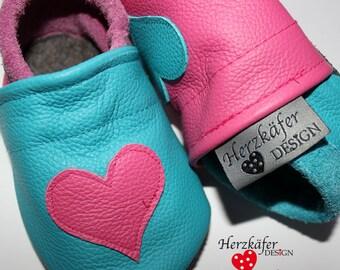eBook (Anleitung) Baby Krabbelschuhe Krabbelpuschen - ebook baby crawling shoes