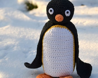 Crochet pattern - Penguin by VendulkaM - amigurumi/ crochet toy, digital pattern, DIY, pdf