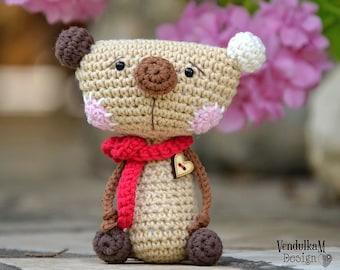 Crochet teddy bear - crochet pattern, DIY