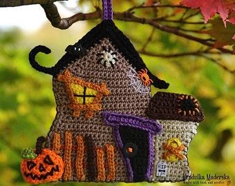 Crochet pattern - Haunted House by VendulkaM - Halloween - Autumn - Home decoration - DIY