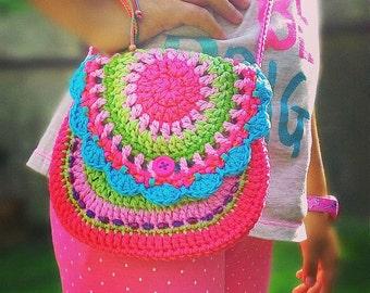 Crochet pattern by VendulkaM - San Francisco crochet purse / digital pattern / DIY, Pdf