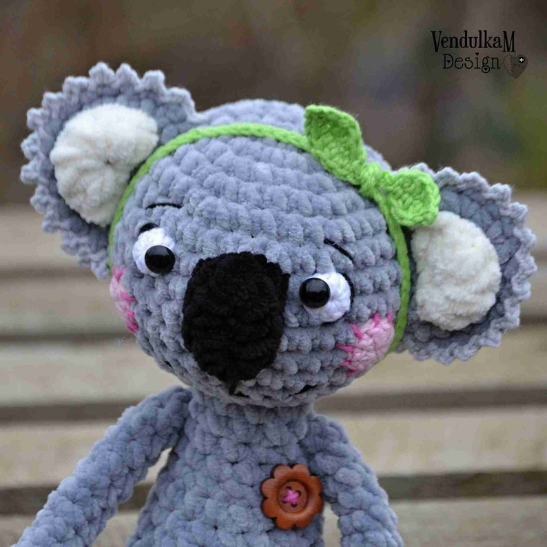 Crochet pattern  Koala by VendulkaM  amigurumi/ crochet toy image 0