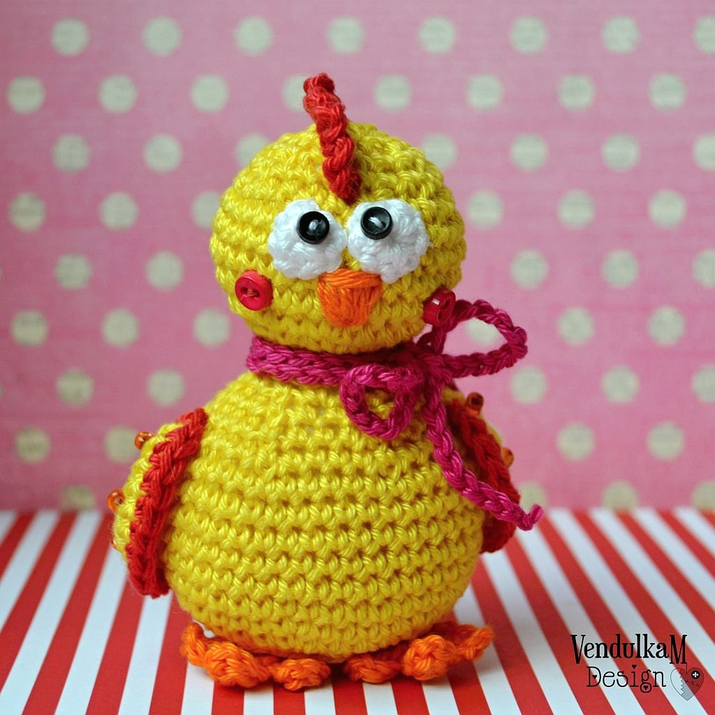 Crochet Chicken Pattern Awesome Inspiration Ideas