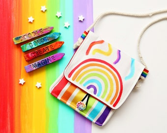 Rainbow Crayon Holder