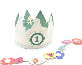 Kids Fabric Crown