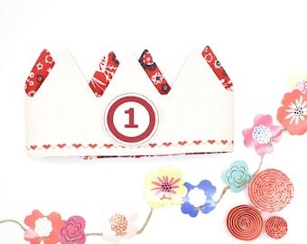 Red Birthday Crown
