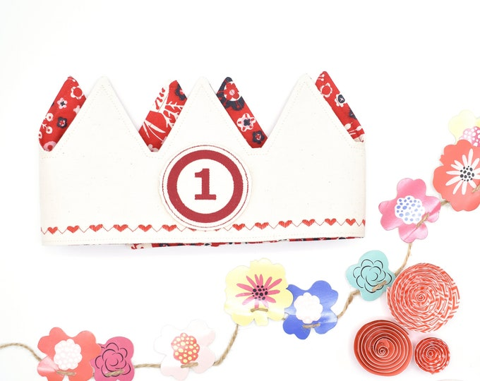 Red Birthday Crown