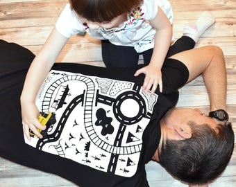 Dads T-Shirt Playmat