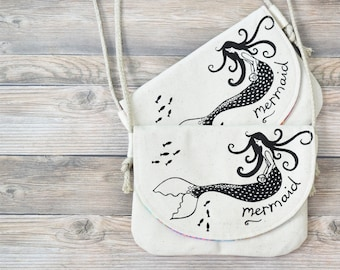 Set of 2 Girls Mermaid Bags