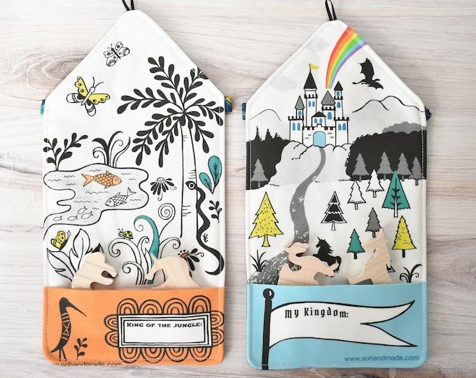Set of 2 Travel Playmats