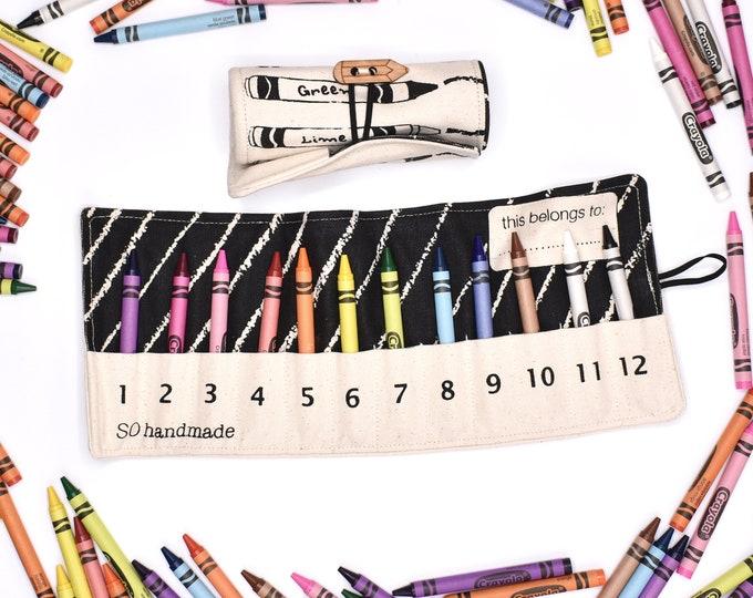 Set of 2 Crayon Rolls