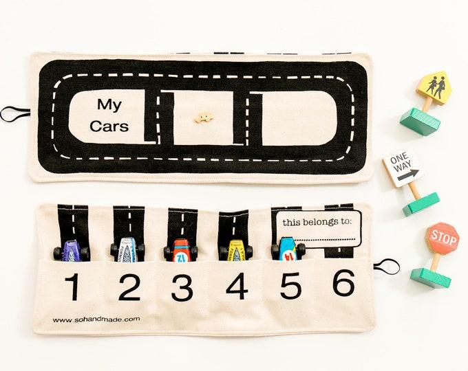 Toy Car Storage Roll