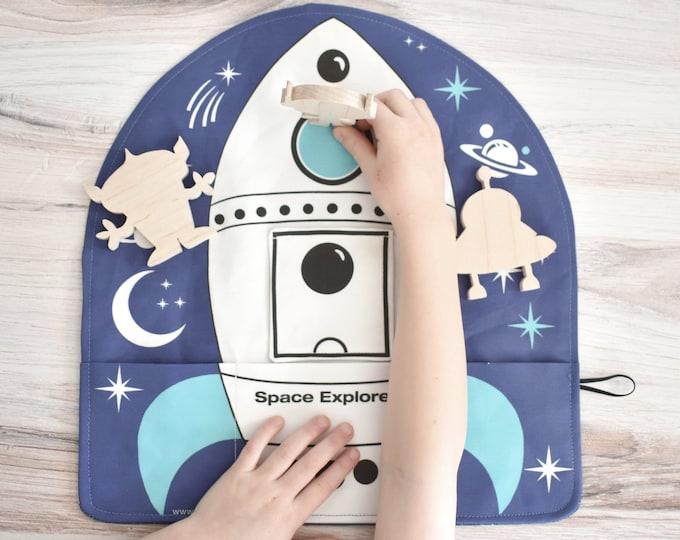 Space Rocket Playmat