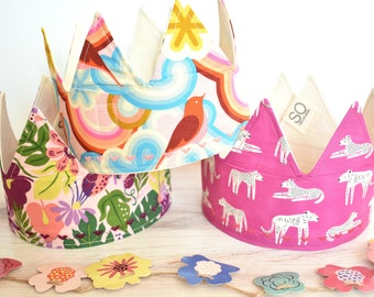Pink and Lilac Birthday Crowns