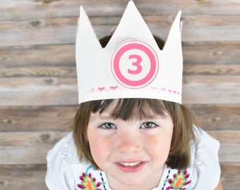 Light Pink Birthday Crown