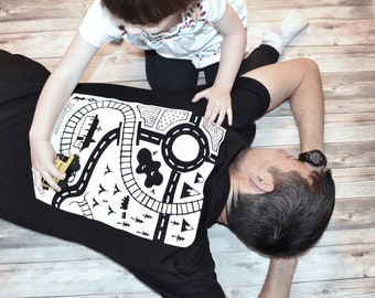 Organic Dads Playmat T Shirt