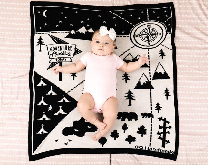 Organic Adventure Blanket