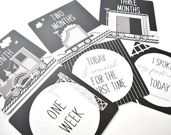 Train Milestone Cards
