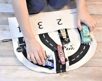 Car Playmat and Storage Roll
