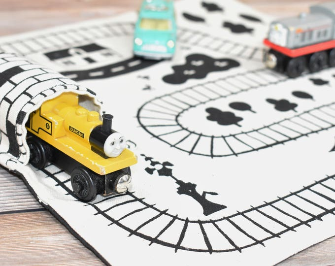 Featured listing image: Train Playmat