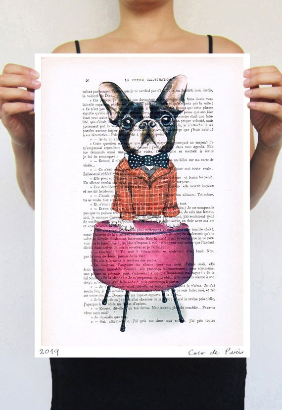 French Bulldog on pouffe,frenchie,deviant art,pop art,art attack,art  deco,wall art,artist,banksy art,modern art,free shipping,bulldog art