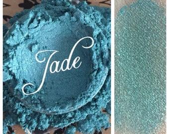 JADE ORGANIC Beauty Mineral Eye Shadow Teal Blue Vegan All Natural Pure Pigments