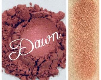 DAWN Eye Shadow Minerals Organic Mauve Rose Shade Vegan All Natural Pure