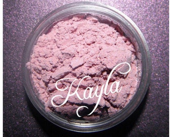 KAYLA Eye Shadow Mineral Light Muted Rose Vegan All Natural Pure Gluten Cruelty Free