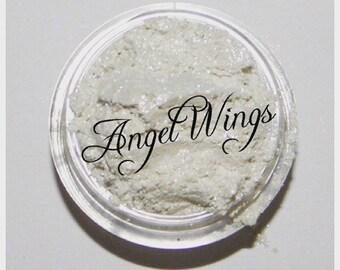 ANGEL WINGS Organic Shimmer White Pearl Highlighter All Natural Gluten Free Vegan