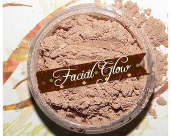 FACIAL GLOW Highlighting Organic Mineral powder for the face. For fair to Light skintones. Vegan All Natural
