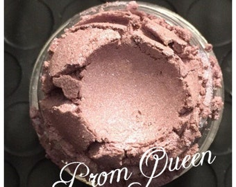 PROM QUEEN Eye Shadow Organic Mineral Eye Shadow light Mauve Rose Violet Shade Vegan All Natural Pure