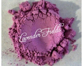 LAVENDER FIELDS Eye Shadow Organic Mineral Vegan All Natural Pure Gluten Cruelty Free, Pigments, Nails