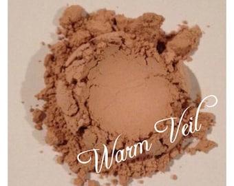 WARM VEIL Organic Mineral Veil Finishing Powder Vitamin E Jojoba oil, essential oil All pure Hand crafted