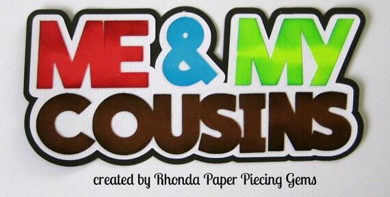 SMARTIE PANTS TITLE school boy girl  scrapbook premade paper piecing by Rhonda