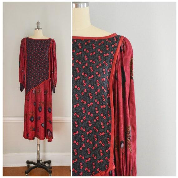 Vintage 80s / 90s Jeanne Marc Dress - image 1