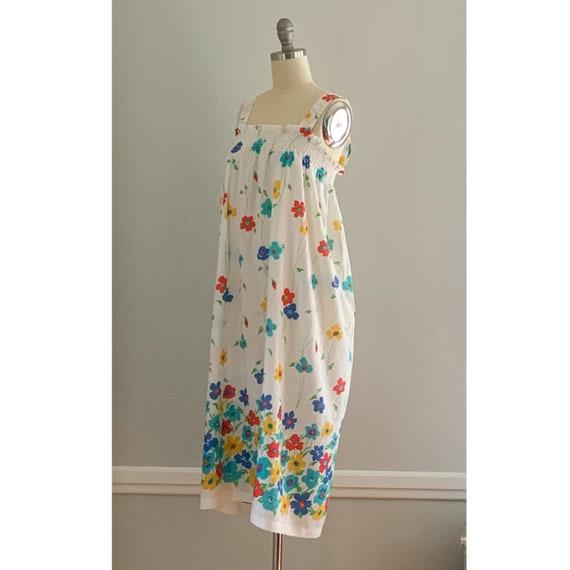 Vintage Floral Sundress - image 5