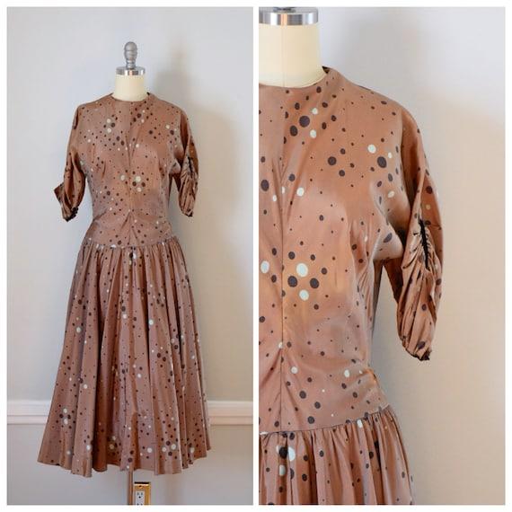 Vintage 50s Dress / AS IS