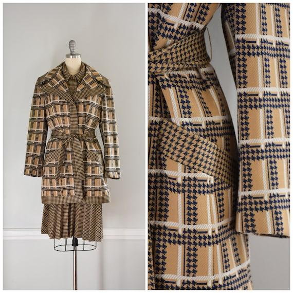 Vintage Lilli Ann Knit Suit