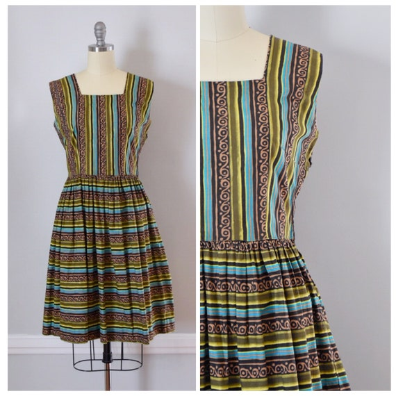 Vintage 50s Cotton Dress