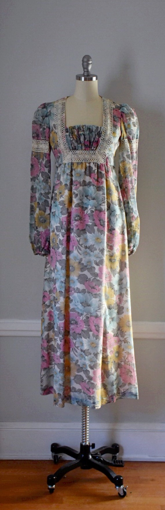Vintage 70s Prairie Dress - image 3