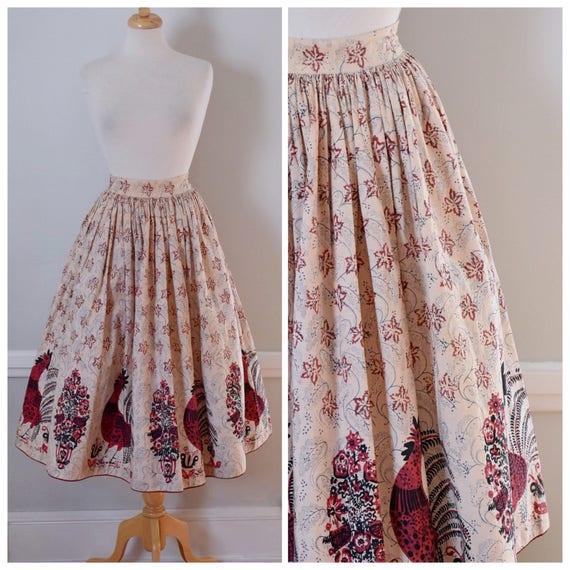 Vintage 50s Circle Skirt