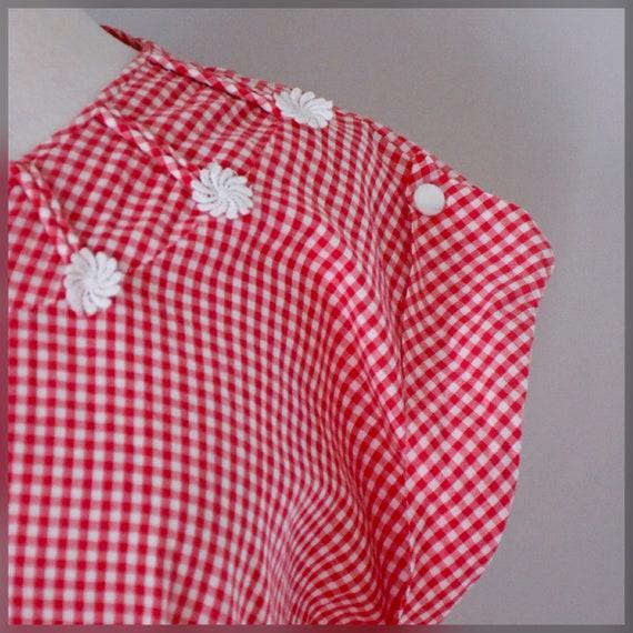 30s / 40s Gingham Dress - image 8