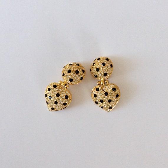 Vintage Joan Rivers Earrings - image 4