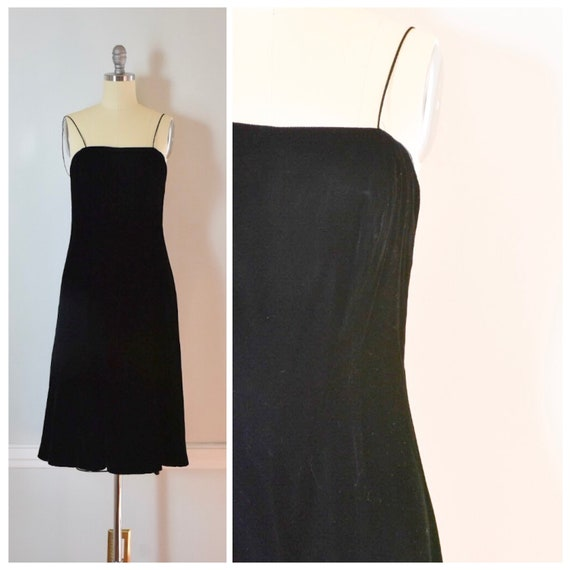 Vintage Miss Elliette Velvet Dress